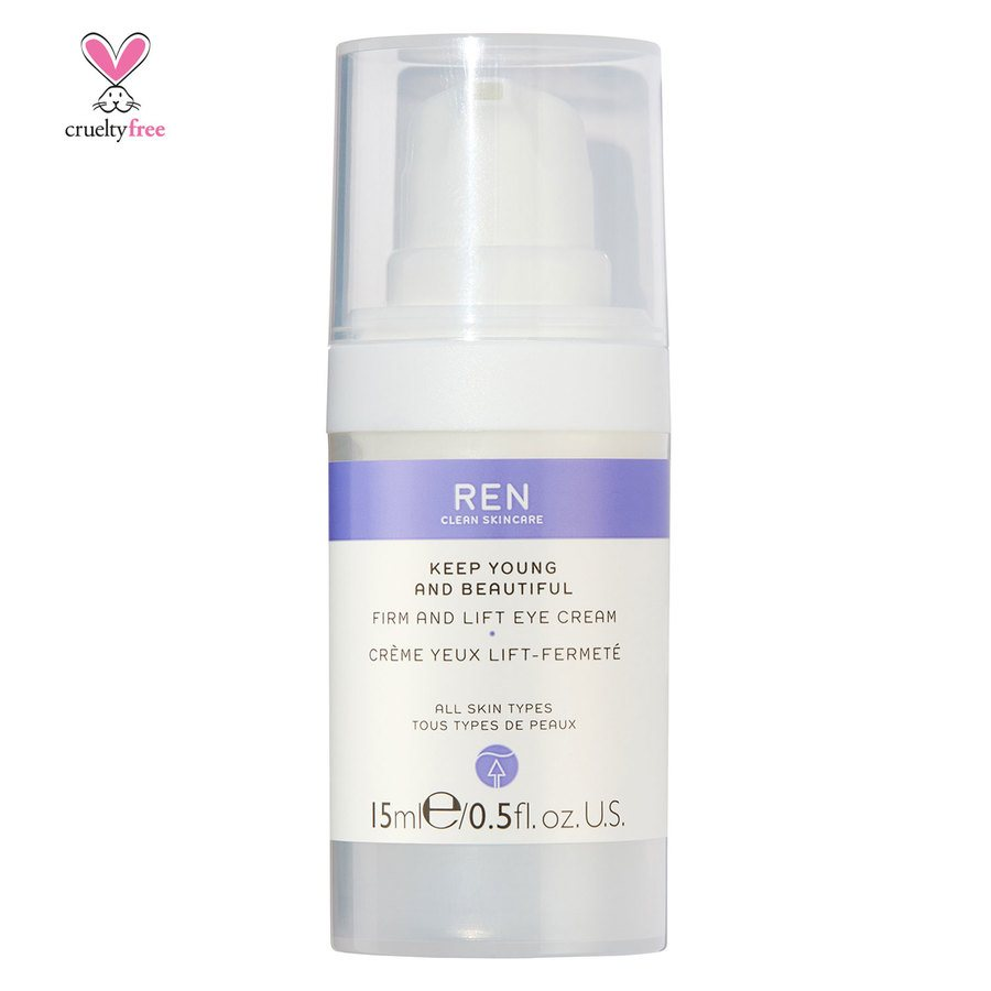 REN Clean Skincare Keep Young And Beautiful Firm And Lift Eye Cream (15 ml)