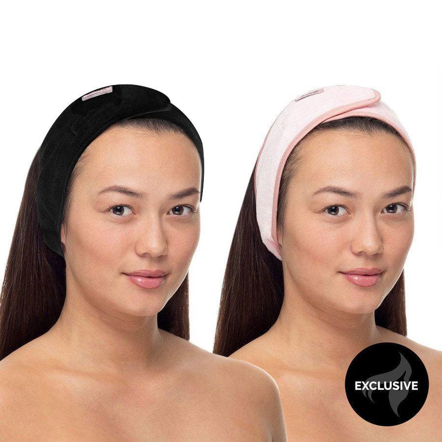Shelas Hairband Black / Pink (2 Stück)