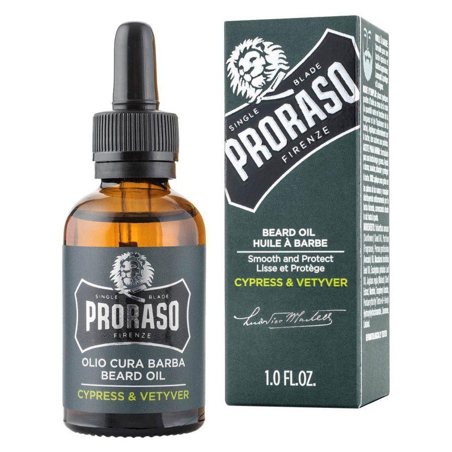 Proraso Beard Oil Cypress & Vetyver 30 ml