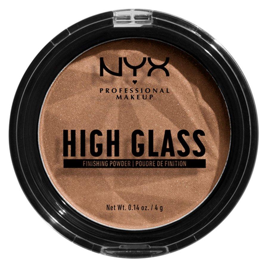 NYX Professional Makeup High Glass Finishing Powder, Deep (4 g)