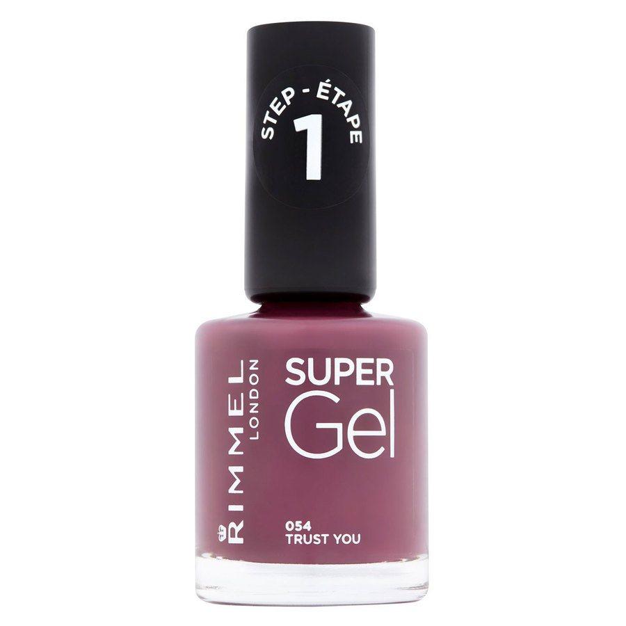 Rimmel London Super Gel Nail Polish, # 054 Trust You (12 ml)
