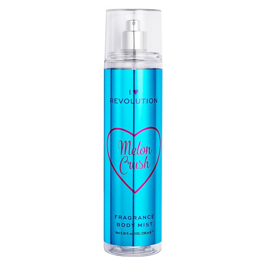 Makeup Revolution I Heart Revolution Body Mist, Melon Crush (236 ml)