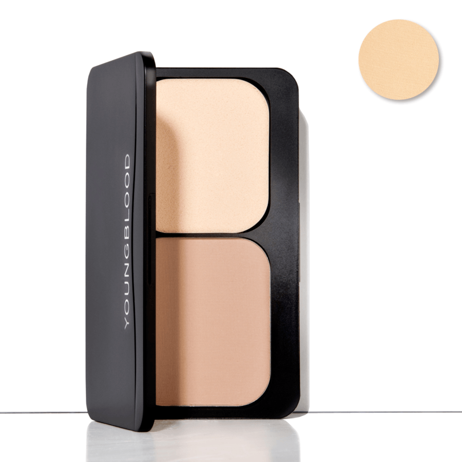 Youngblood Pressed Mineral Foundation, Barely Beige (8 g)