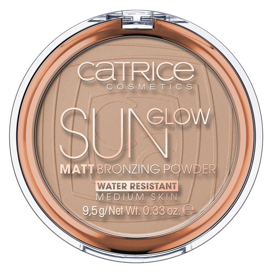 Catrice Sun Glow Matt Bronzing Powder, 030 Medium Bronze 9,5 g