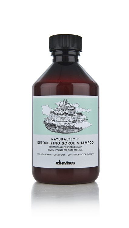 Davines NATURAL TECH Detoxifying Scrub Shampoo 250ml