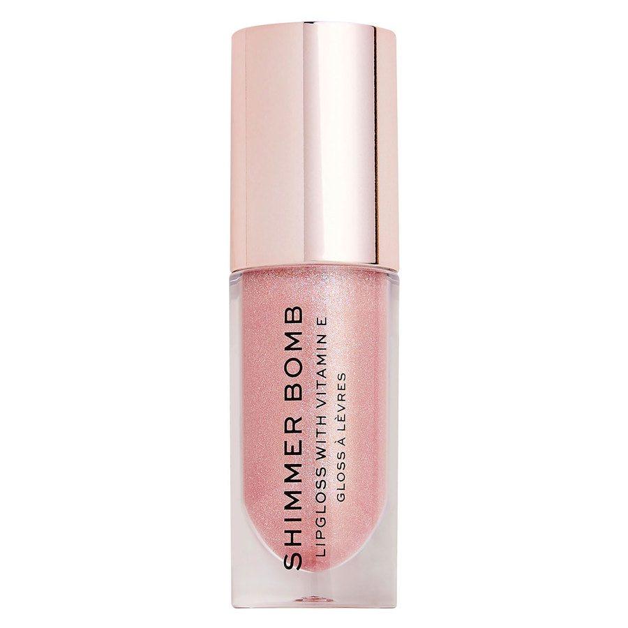 Makeup Revolution Shimmer Bomb Lip Gloss, Glimmer (4,5ml)