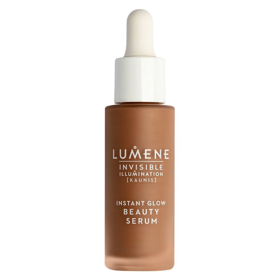 Lumene Invisible Illumination Instant Glow Beauty Serum Universal Deep 30 ml