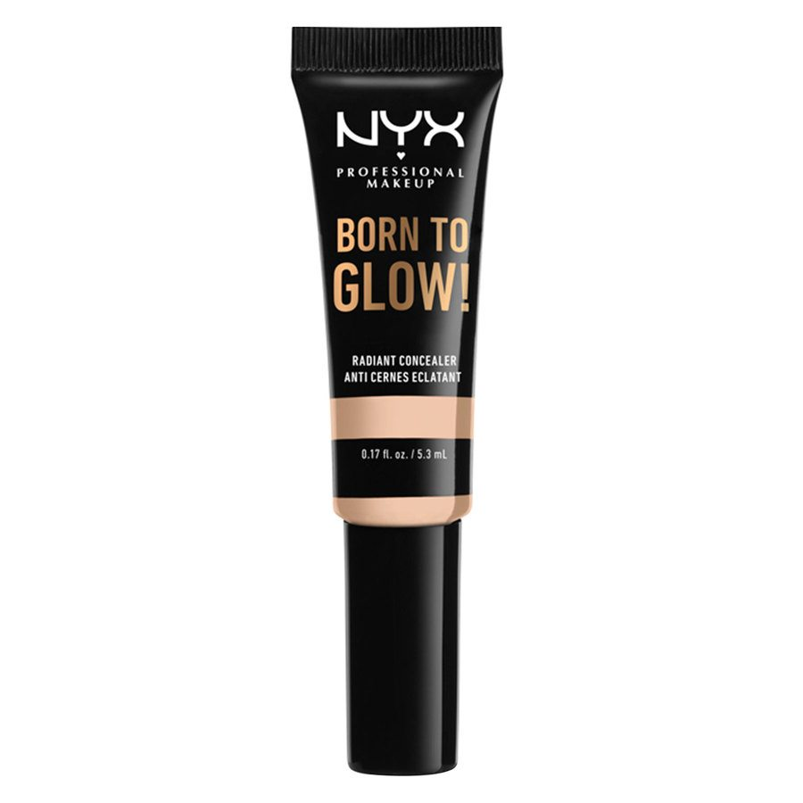 NYX Professional Makeup Born To Glow Radiant Concealer, Light Ivory (5,3 ml)