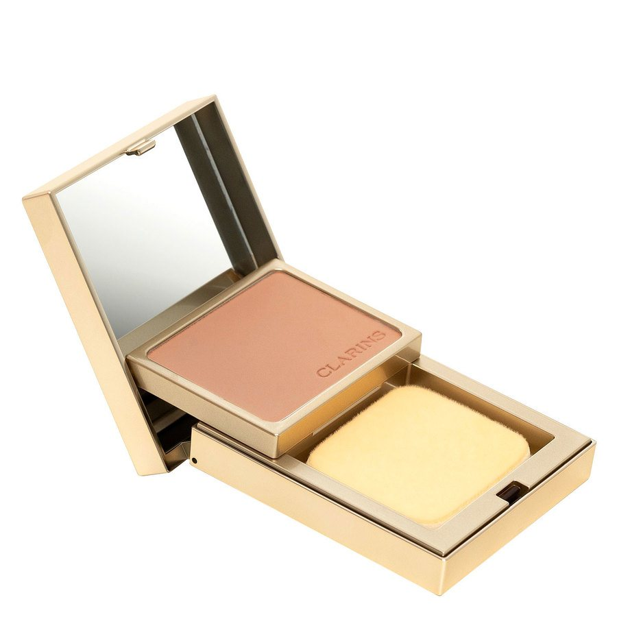 Clarins Everlasting Compact Foundation +, # 112 Amber (10 g)
