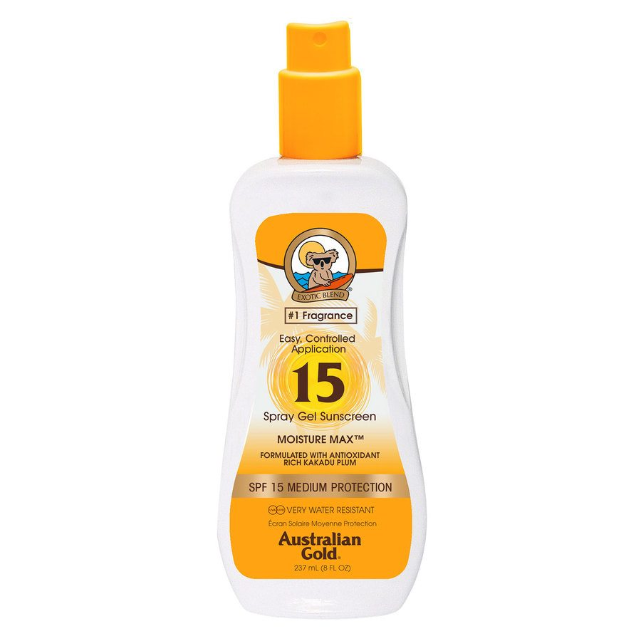 Australian Gold Spray Gel SPF 15 (237 ml)