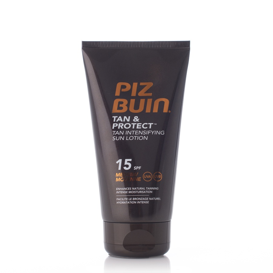 Piz Buin Tan & Protect Sun Lotion SPF 15 (150 ml)