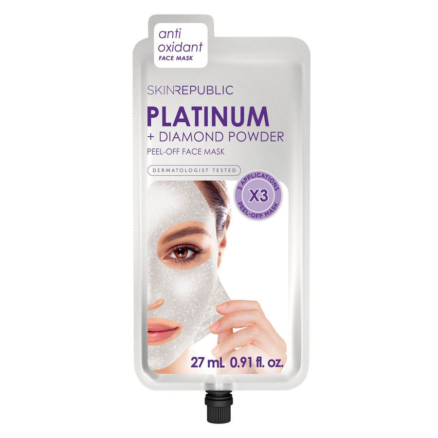 Skin Republic Platinum Peel-Off Face Mask (3 Masks)