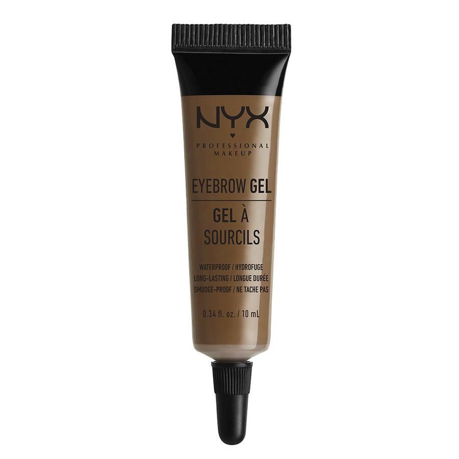 NYX Professional Makeup Eyebrow Gel, Brunette