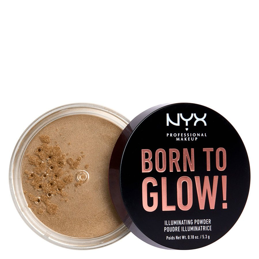 NYX Professional Makeup Born To Glow Illuminating Powder Ultra Light Beam (5,3 g)