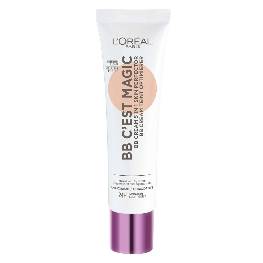 L'Oréal Paris C'est Magique Skin Perfector BB Cream Medium Light #3 30ml