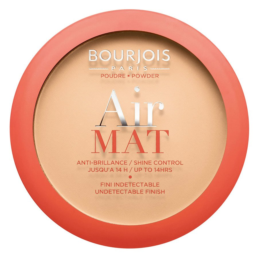 Bourjois Air Mat Compact Powder, 02 Light Beige (10 g)