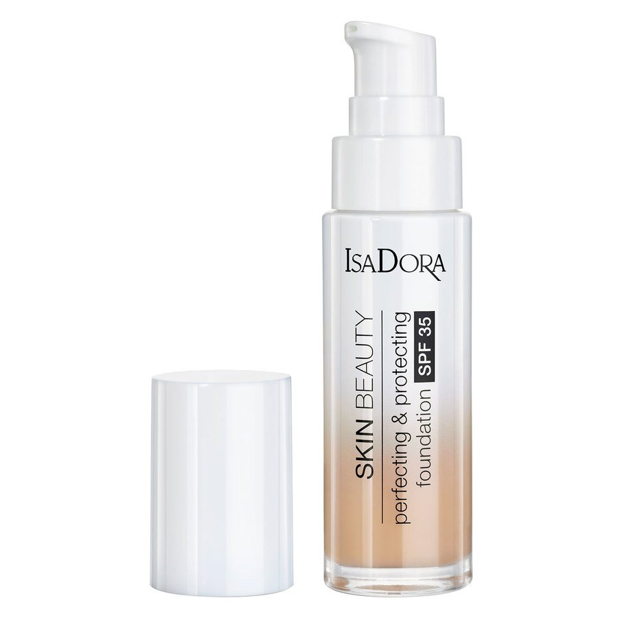 IsaDora Skin Beauty Perfecting & Protecting Foundation, SPF35 04 Sand 30 ml