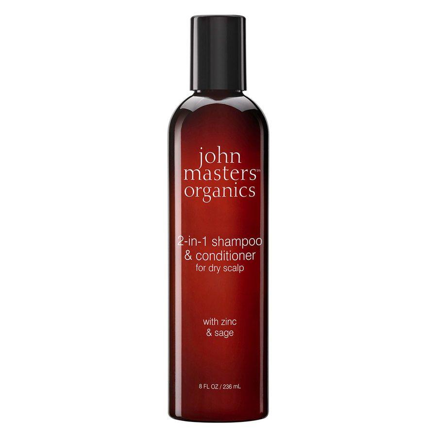 John Masters Organics Zinc & Sage Shampoo with Conditioner (236 ml)