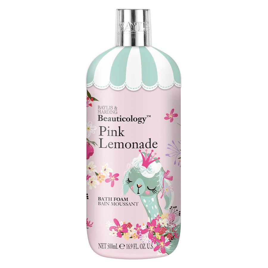 Baylis & Harding Beauticology Lama Pink Lemonade Bath Foam (500 ml)