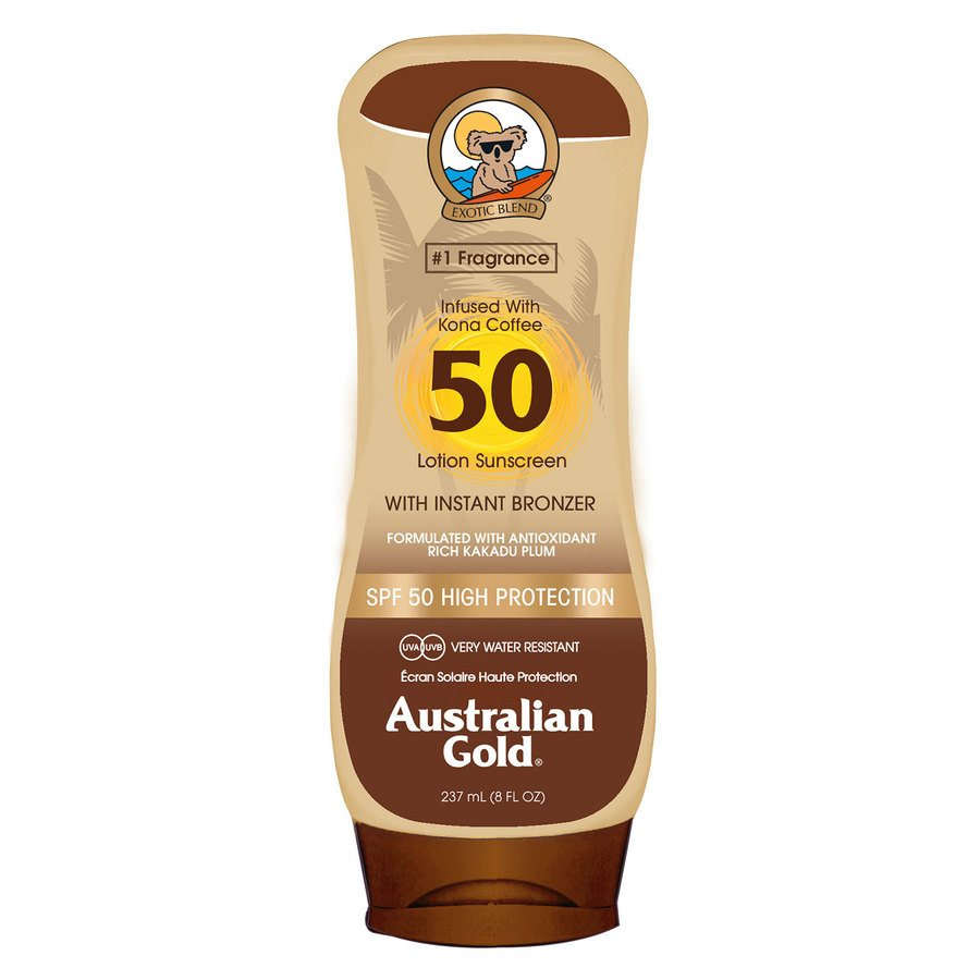 Australian Gold LSF 50 Lotion Bronzer (237 ml)