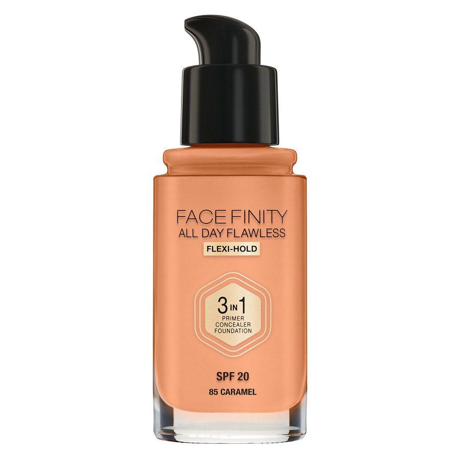 Max Factor Facefinity 3 In 1 Foundation, 85 Caramel (30 ml)