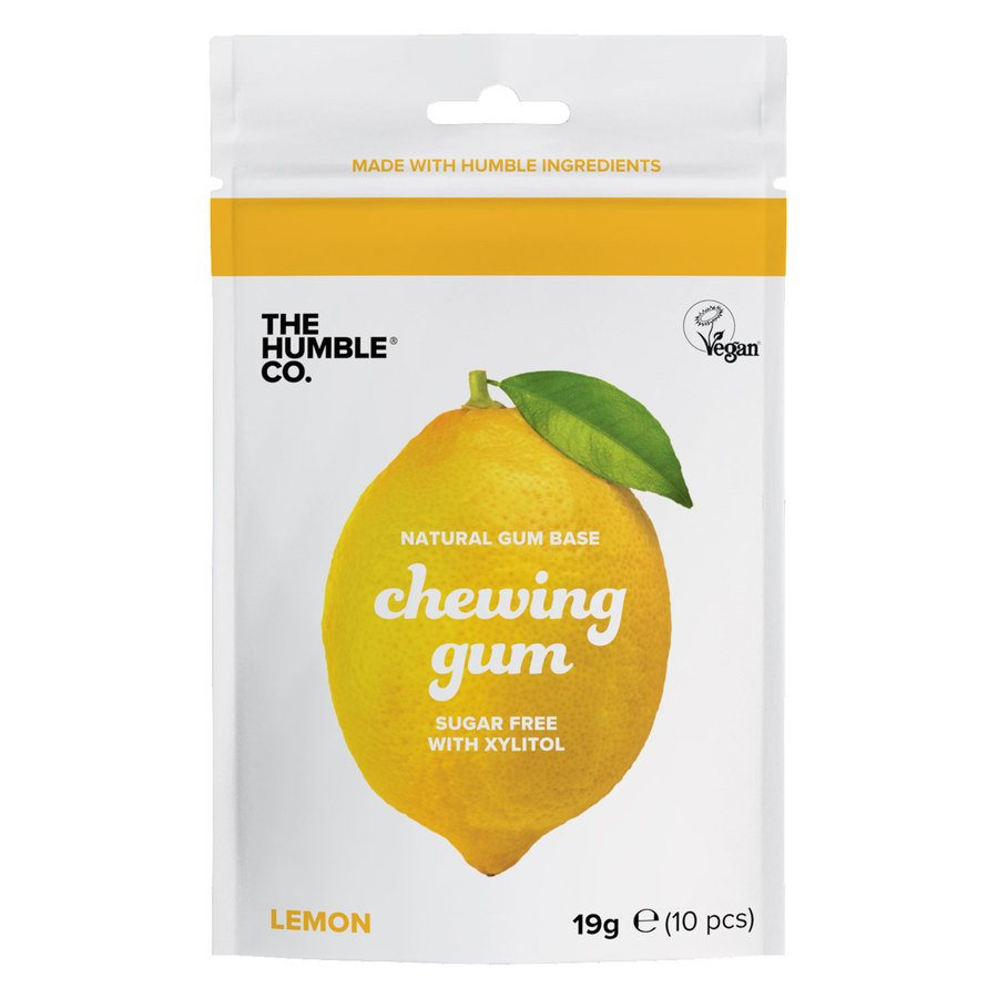 The Humble Co Humble Natural Chewing Gum, Lemon 10St.