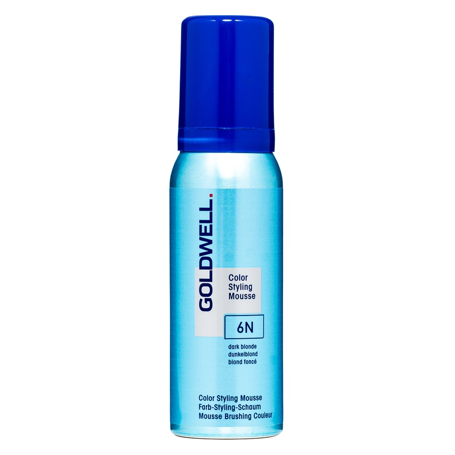 Goldwell Color Styling Mousse, 6N Dark Blonde (75 ml)
