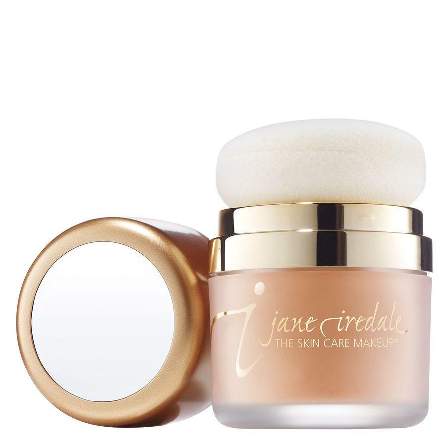 Jane Iredale Powder Me Dry Sunscreen Sonnenschutz-Puder mit LSF 30, Tanned (17,5 g)
