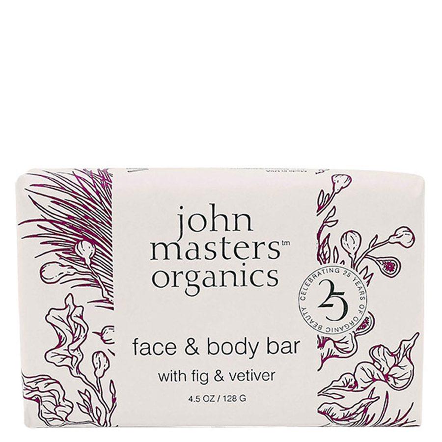 John Masters Organics Face & Body Bar With Fig & Vetiver (128 g)