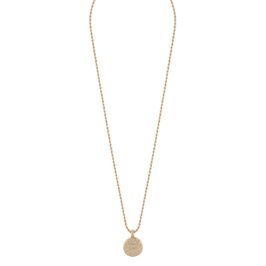 Snö Of Sweden Madeleine Pendant Neck 42 Plain Gold