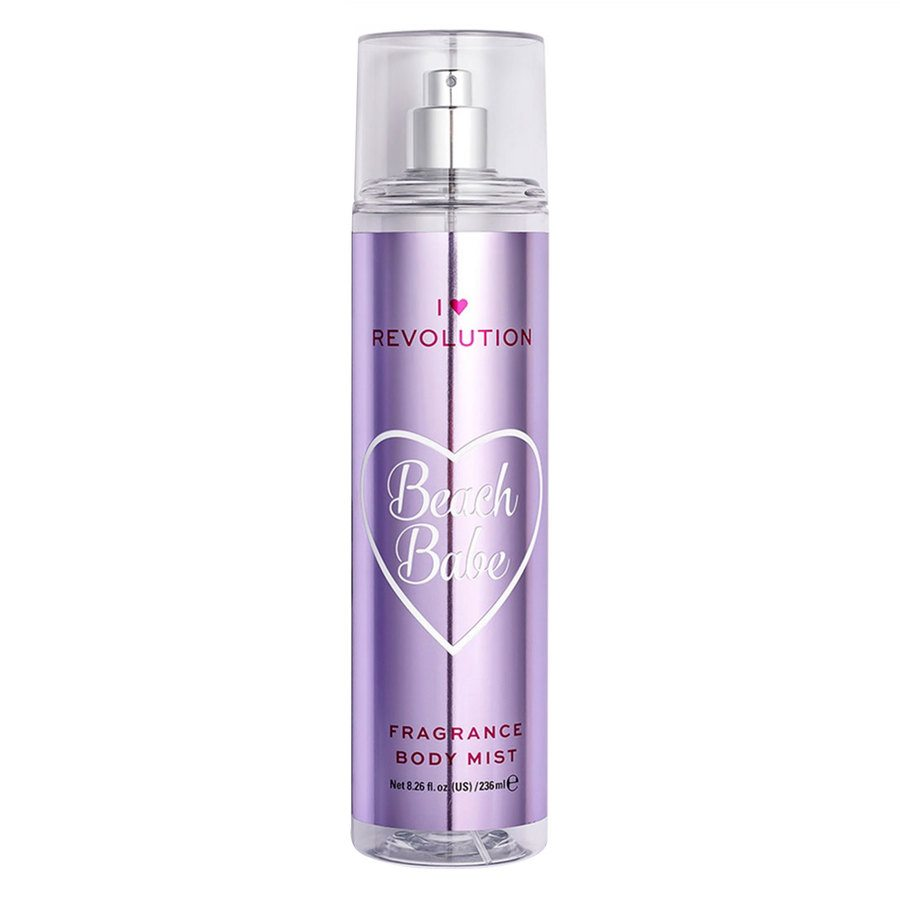 Makeup Revolution I Heart Revolution Body Mist, Beach Babe (236 ml)