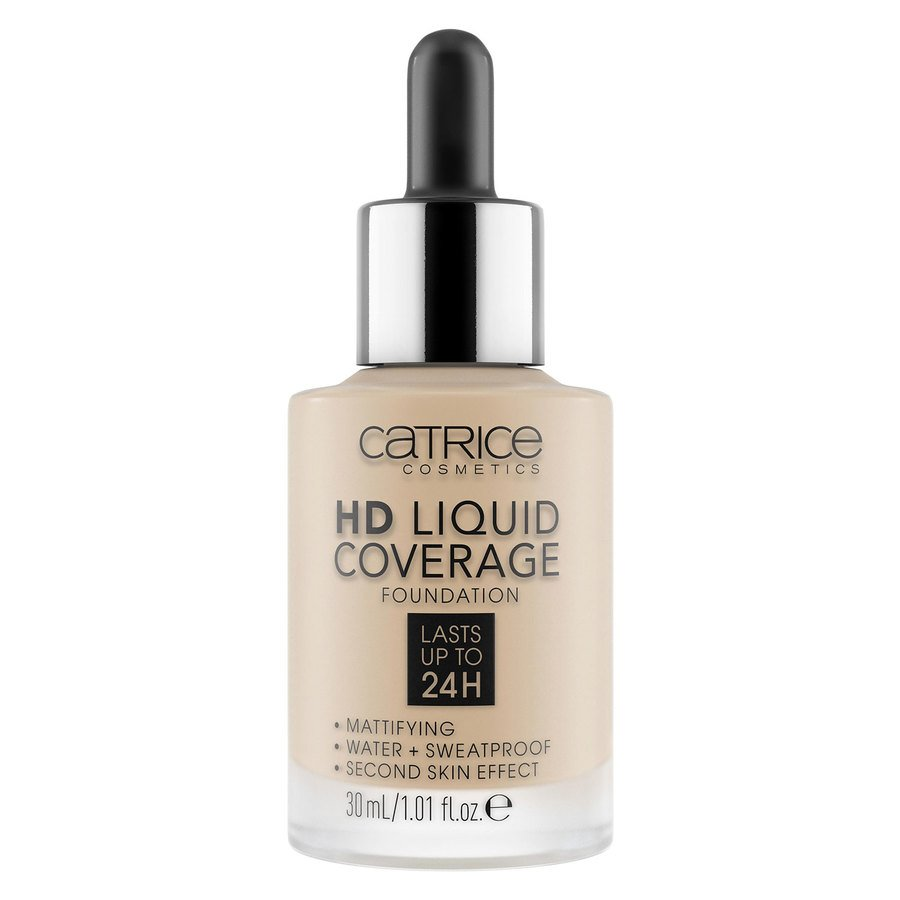 Catrice HD Liquid Coverage Foundation, 030 Sand Beige 30 ml