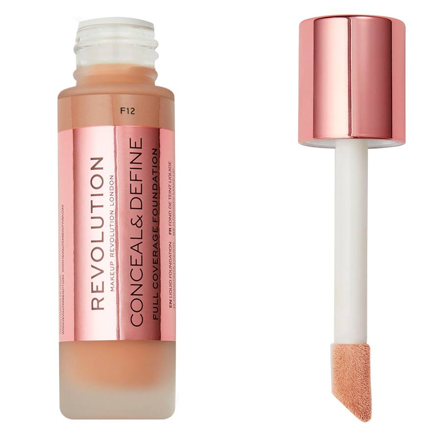 Makeup Revolution Conceal & Define Foundation F12 23ml