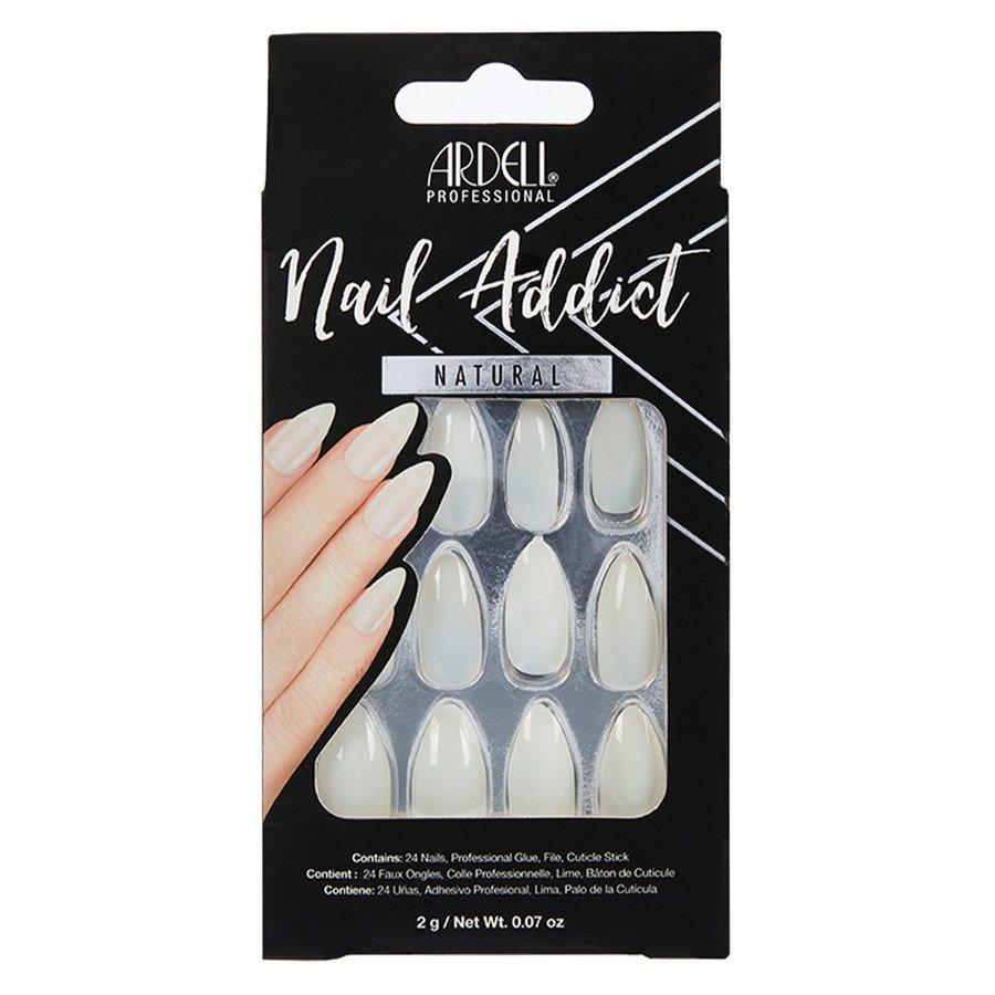 Ardell Nail Addict, Natural Stiletto 1St.