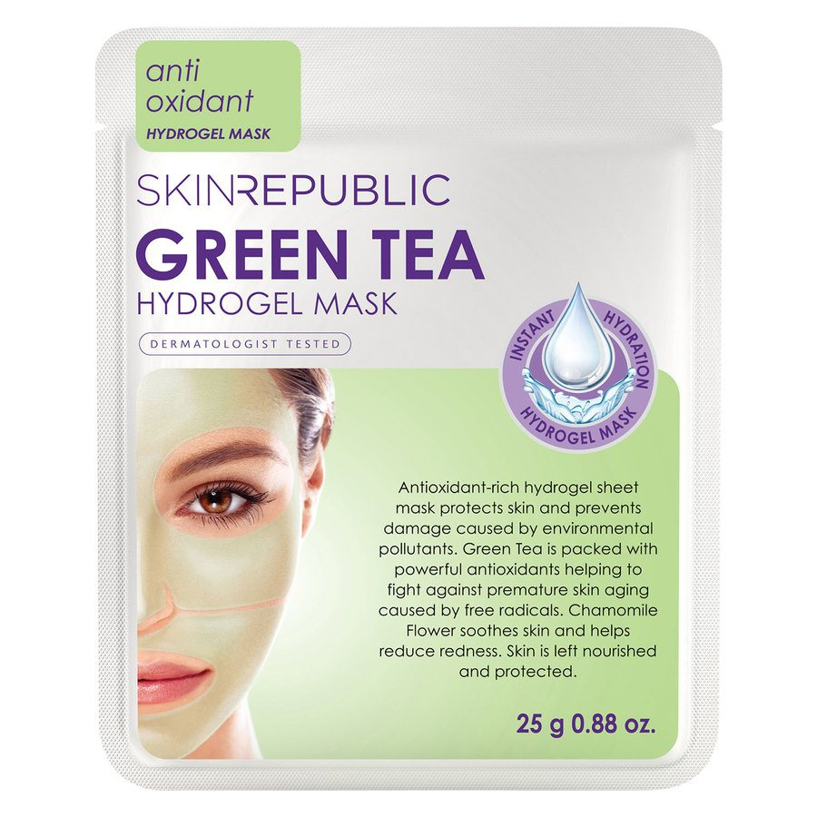Skin Republic Green Tea Hydrogel Face Mask Sheet (25 g)