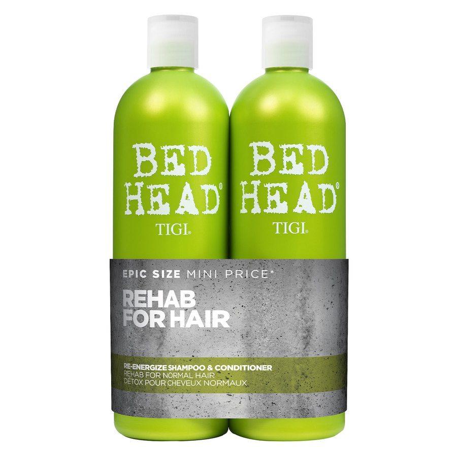 TIGI Bed Head Urban Antidotes Re-Energize Shampoo & Conditioner (2 x 750 ml)