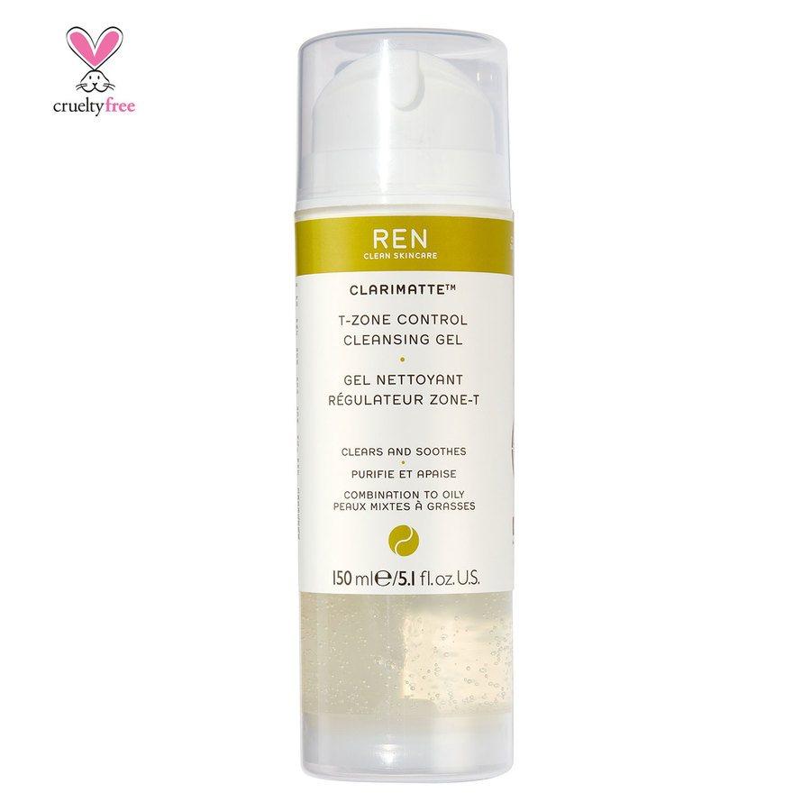 REN Clean Skincare Clarimatte T-Zone Control Cleansing Gel (150ml)