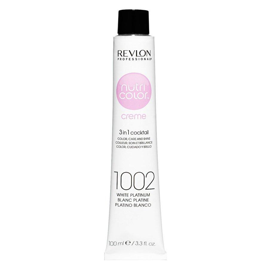 Revlon Professional Nutri Color Creme, White Platinum #1002 (100 ml)