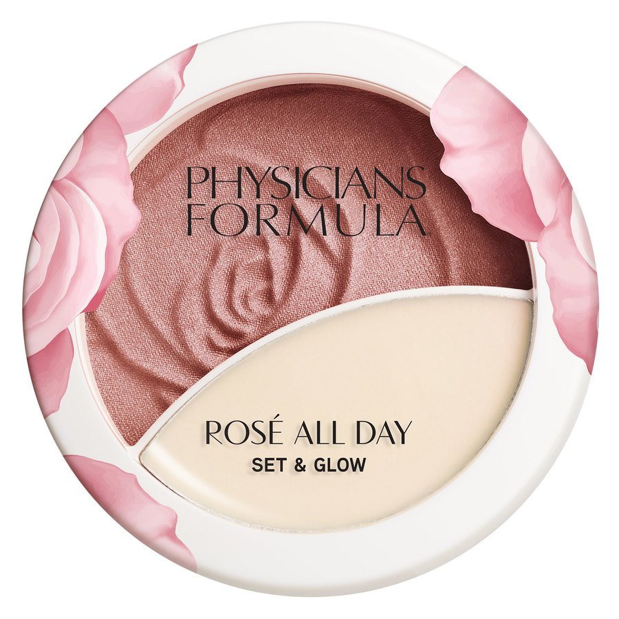 Physicians Formula Rosé All Day Set & Glow Powder, Brigtening Rose (10,2 g)