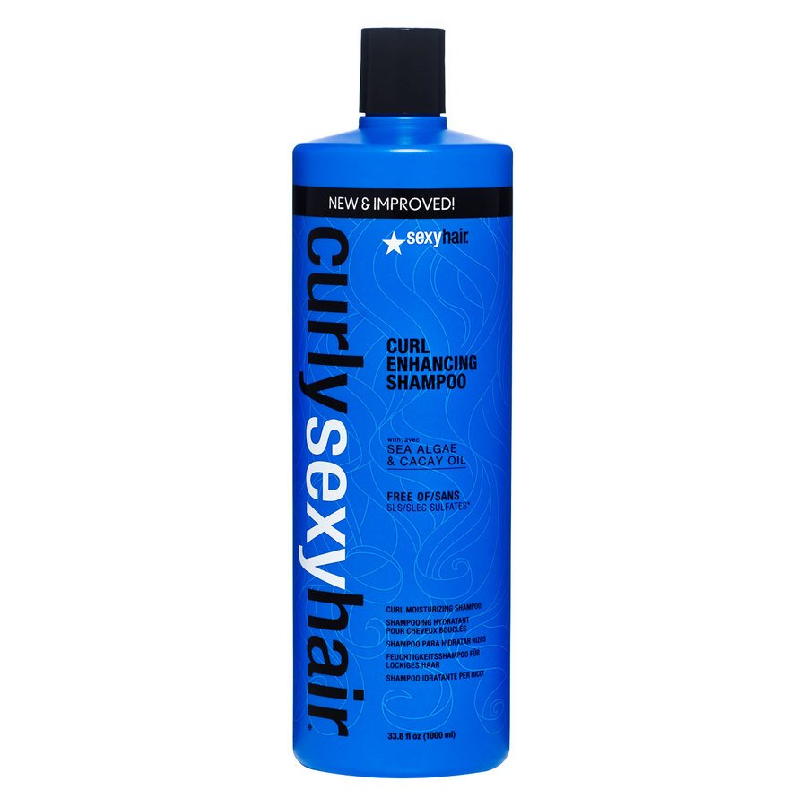 Curly Sexy Hair Color Safe Curl Defining Shampoo (1000 ml)