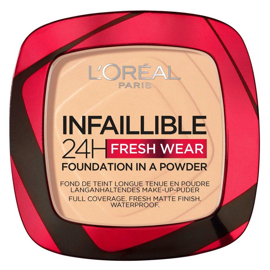 L'Oréal Paris Infaillible 24H Fresh Wear Foundation In A Powder, Chasmere 9g