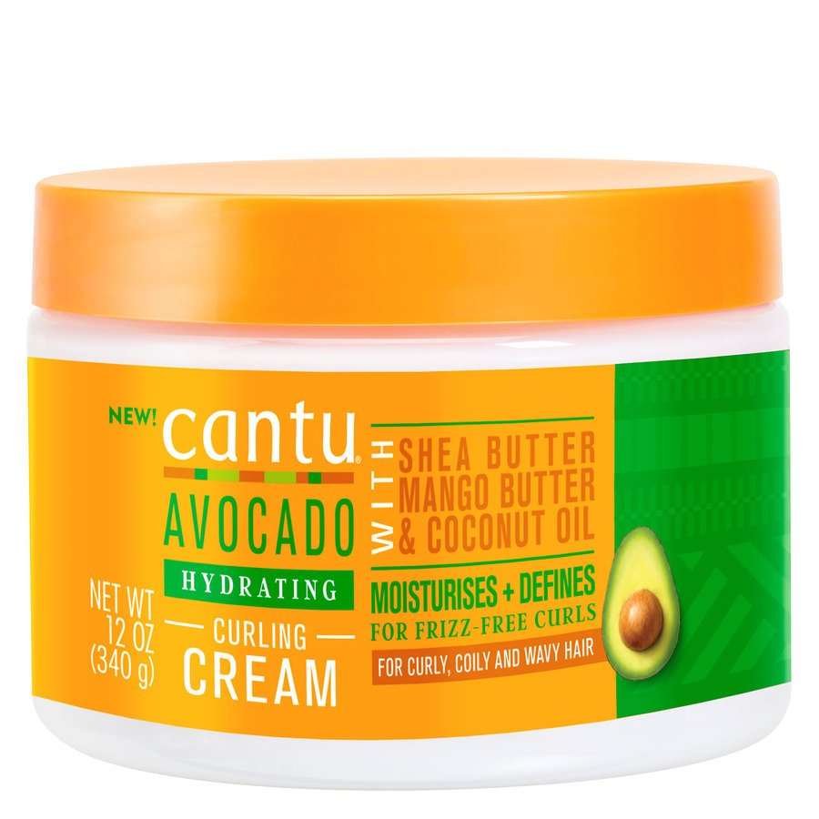 Cantu Avocado Hydrating Curling Cream (340 g)