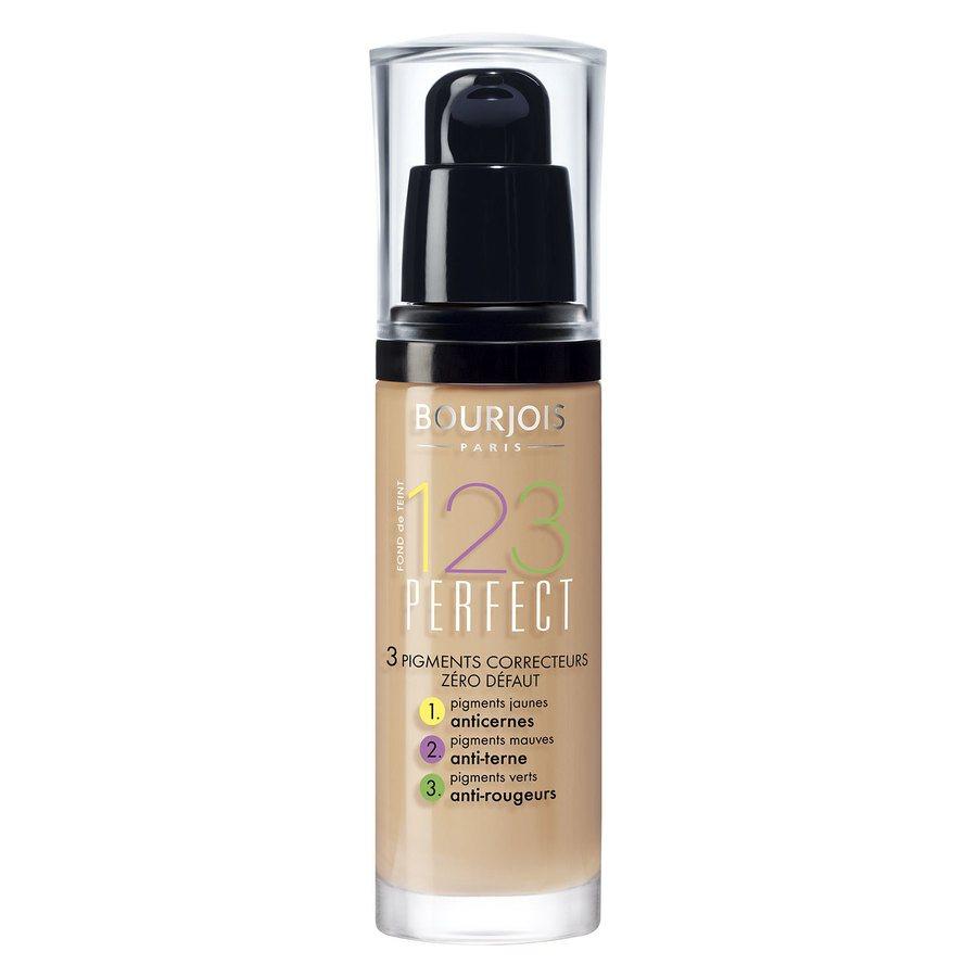 Bourjois 1,2,3 Perfect Foundation, 53 Light Beige (30 ml)