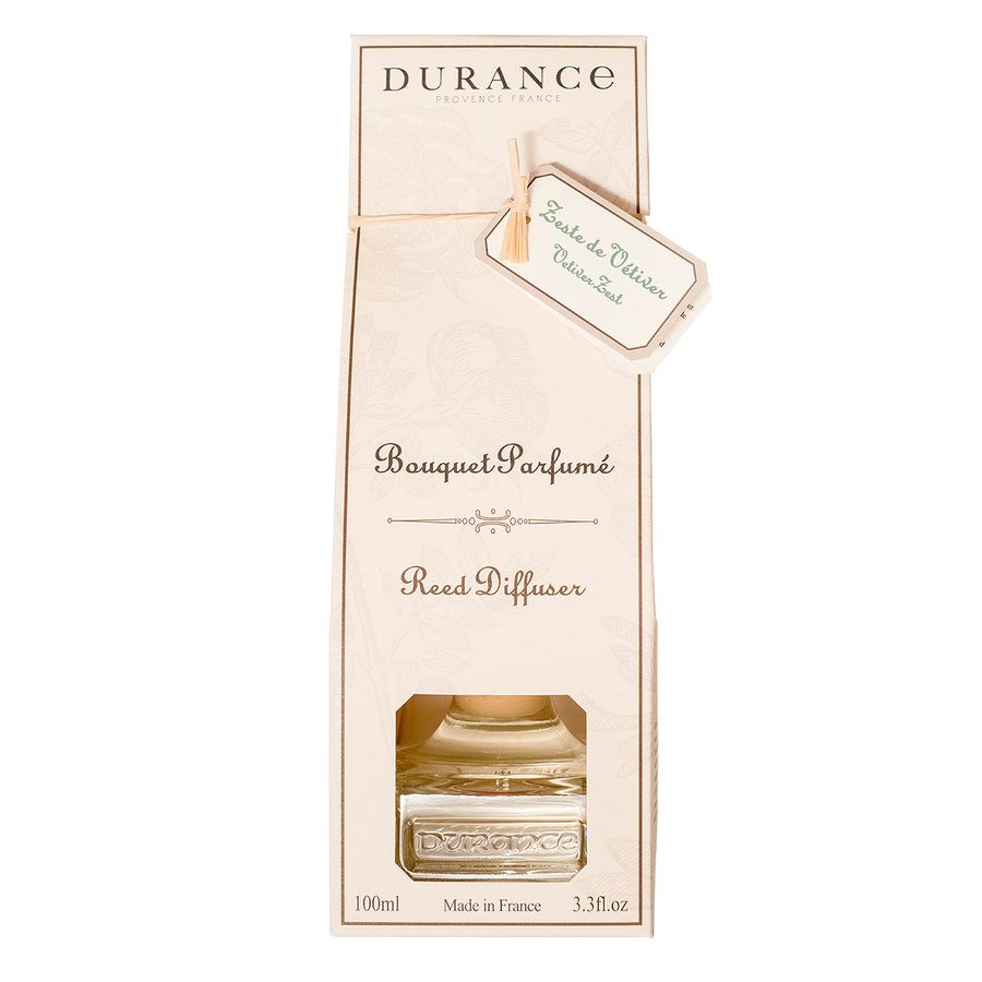 Durance Reed Diffuser Vetiver Zest 100ml
