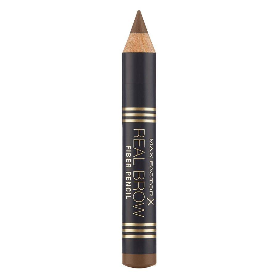 Max Factor Real Brow Fiber Pencil, 001 Light Brown (1,83 g)