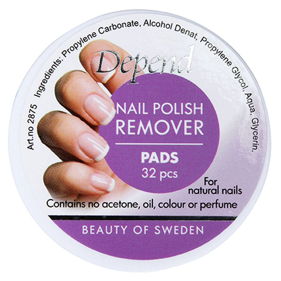 Depend Nail Polish Remover Pads (32 St.)