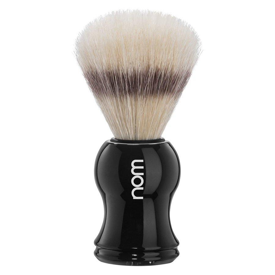 Nom Gustav Shaving Brush Pure Bristle, Black