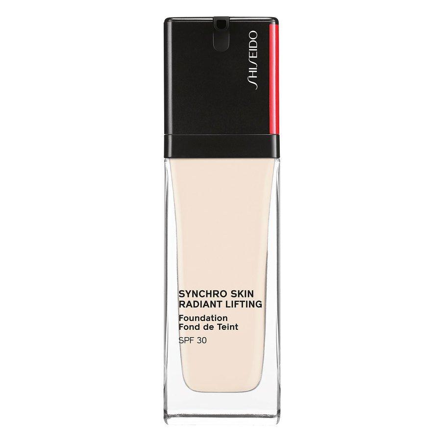 Shiseido Synchro Skin Radiant Lifting Foundation SPF30, 110 Alabaster 30 ml