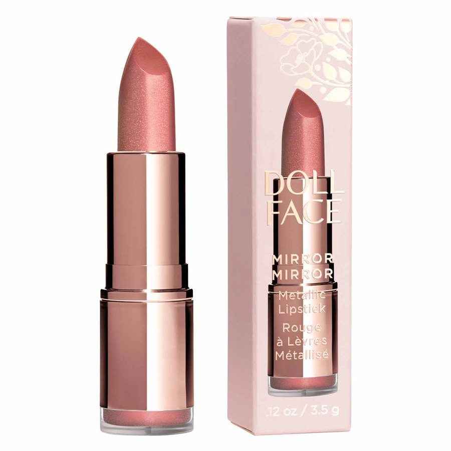 Doll Face Mirror Mirror Metallic Lipstick, Queenie (3,4 g)
