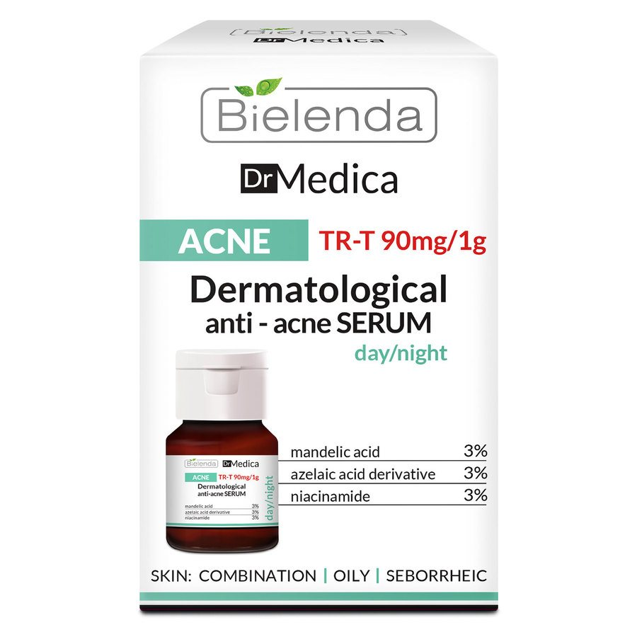 Bielenda Dr Medica Acne Dermatologic Anti-Acne Face Serum Day/Night 30 ml